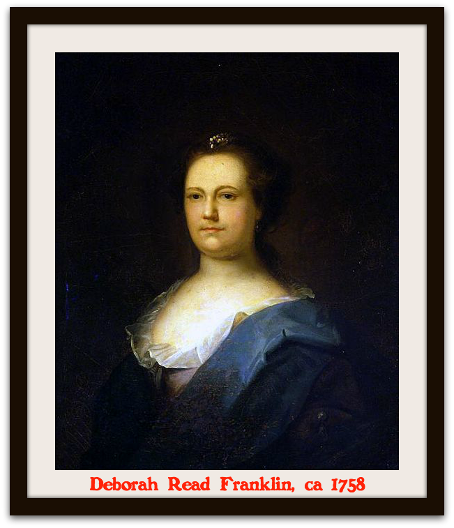 Deborah Read Franklin 1758