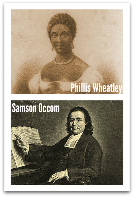 Phillis Wheatley Samson Occom