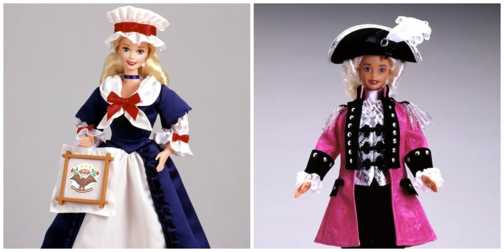Colonial and George Washington Barbie