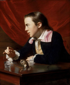 John Singleton Copley, Boy with Squirrel (Henry Pelham), 1765