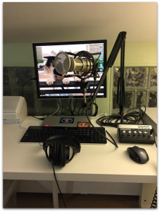 BFWorld Recording Setup