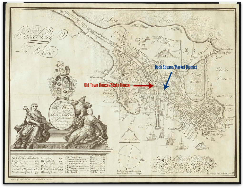Boston Map 1723