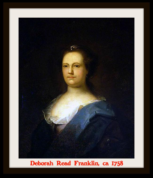 Deborah Read Franklin 1758
