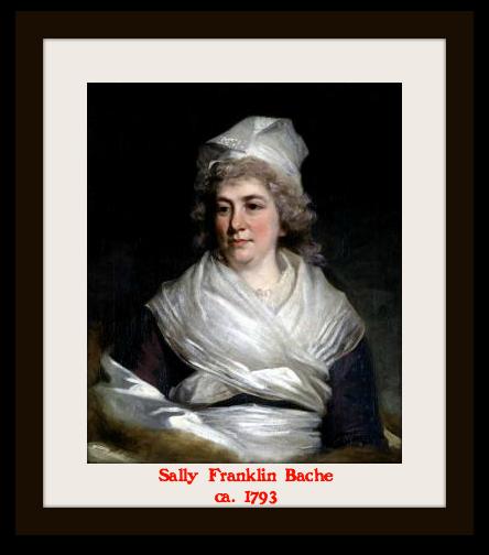 Sally Franklin Bache, 1793