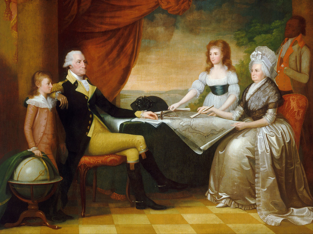 Savage Washington Family 1789-1796